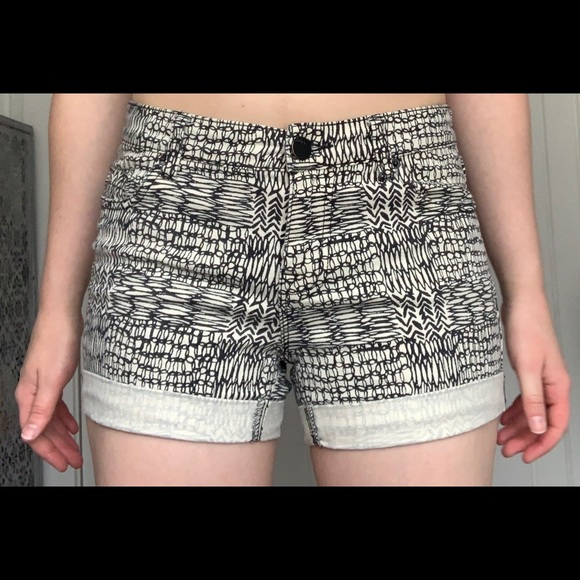 BDG Pants - Black and White Shorts